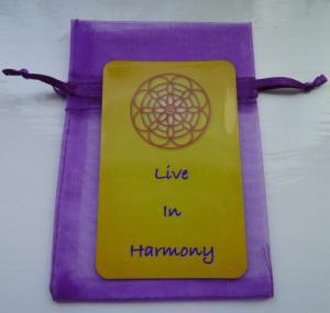 Living in Harmony Magnet
